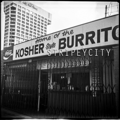 Kosher Burrito blog